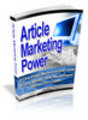 Thumbnail Article Marketing Power with Resell Rights