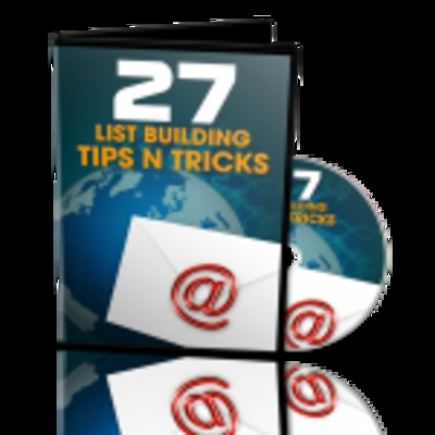 Product picture 27 List Building Tips and Tricks Plr