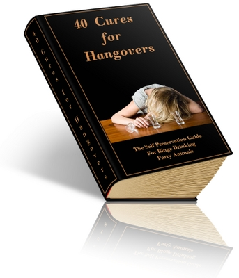 Product picture Cures For Hangovers with Mrr + Articles and Aff programs.