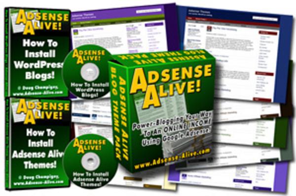 Product picture Profitable Blogging with Adsense Alive +Mrr & Bonus Videos.
