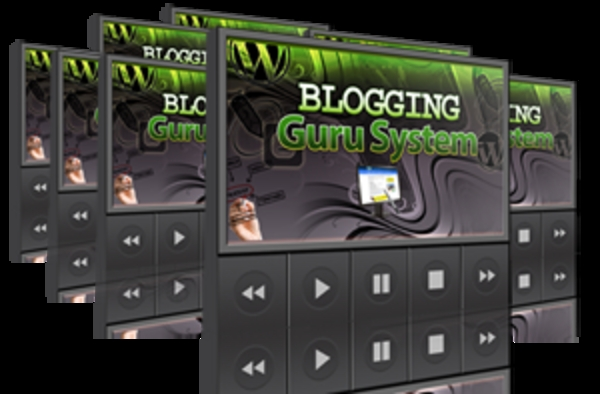 Product picture Blogging Guru System with Mrr
