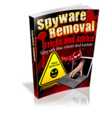 Product picture Remove Spyware Tips and Tricks with Master Sales Rights