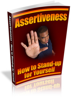 Product picture  Assertiveness-knowing when you Need to say No with Mrr